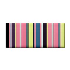 Stripes Colorful Wallpaper Seamless Hand Towel