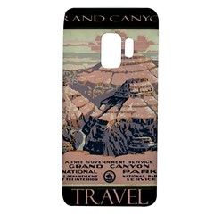 Vintage Travel Poster Grand Canyon Samsung Galaxy S9 Tpu Uv Case