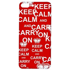 Keep Calm And Carry On Iphone 7/8 Plus Soft Bumper Uv Case by Vaneshart