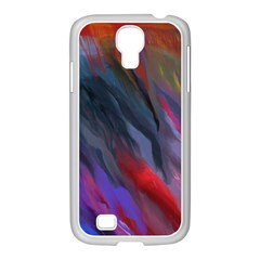 Abstract Paint Painting Watercolor Samsung Galaxy S4 I9500/ I9505 Case (white)