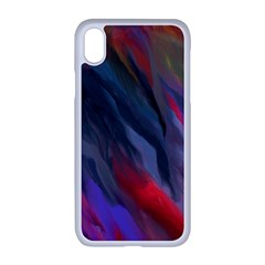 Abstract Paint Painting Watercolor Iphone Xr Seamless Case (white)