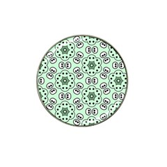 Background Texture Dots Pattern Hat Clip Ball Marker (10 Pack)