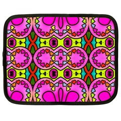 Abstract Background Pattern Netbook Case (large)