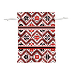 Folklore Ethnic Pattern Background Lightweight Drawstring Pouch (m)