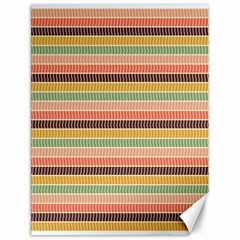 Vintage Stripes Lines Background Canvas 12  X 16