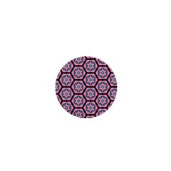 Background Pattern Tile Flower 1  Mini Buttons