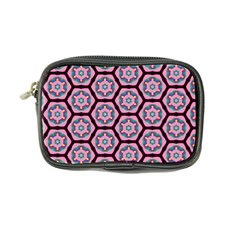 Background Pattern Tile Flower Coin Purse