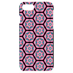 Background Pattern Tile Flower Iphone 7/8 Black Uv Print Case