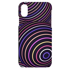 Abtract Colorful Spheres Iphone X/xs Black Uv Print Case