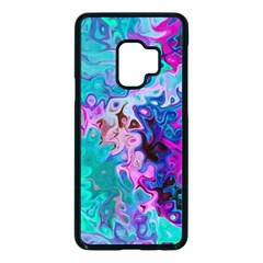 Background Texture Pattern Samsung Galaxy S9 Seamless Case(black)