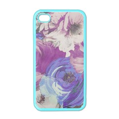 Floral Vintage Wallpaper Pattern Iphone 4 Case (color)