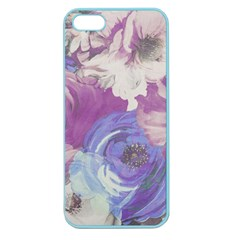 Floral Vintage Wallpaper Pattern Apple Seamless Iphone 5 Case (color)