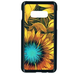 Floral Pattern Background Samsung Galaxy S10e Seamless Case (black)