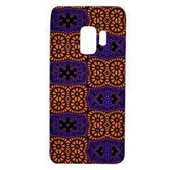 Abstract Clutter Pattern Vintage Samsung Galaxy S9 Tpu Uv Case by Vaneshart
