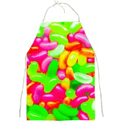Vibrant Jelly Bean Candy Full Print Apron by essentialimage