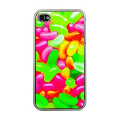 Vibrant Jelly Bean Candy Iphone 4 Case (clear) by essentialimage