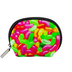 Vibrant Jelly Bean Candy Accessory Pouch (small) by essentialimage