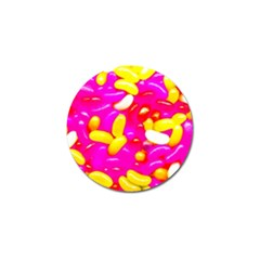 Vibrant Jelly Bean Candy Golf Ball Marker (10 Pack) by essentialimage