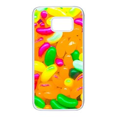 Vibrant Jelly Bean Candy Samsung Galaxy S7 White Seamless Case by essentialimage