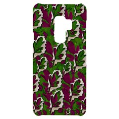 Green Fauna And Leaves In So Decorative Style Samsung S9 Plus Black Uv Print Case by pepitasart