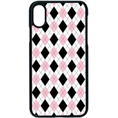 Argyle 316837 960 720 Iphone X Seamless Case (black) by vintage2030