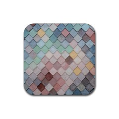 Tiles Shapes 2617112 960 720 Rubber Coaster (square)  by vintage2030