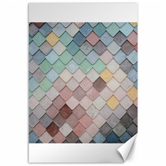 Tiles Shapes 2617112 960 720 Canvas 12  X 18  by vintage2030