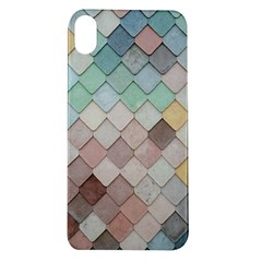 Tiles Shapes 2617112 960 720 Apple Iphone Xr Tpu Uv Case by vintage2030