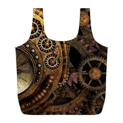 Steam 3160715 960 720 Full Print Recycle Bag (l) by vintage2030