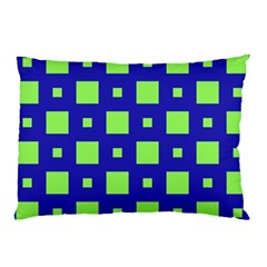 Squares Grid Seamless Pillow Case by Vaneshart