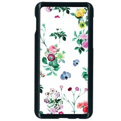 Leaves Green Aop Samsung Galaxy S10e Seamless Case (black)