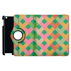Abstract Seamless Pattern Apple Ipad 3/4 Flip 360 Case