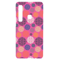 Abstract Seamless Pattern Graphic Pink Samsung A9 Black Uv Print Case
