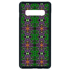 Abstract 38 Samsung Galaxy S10 Plus Seamless Case (black) by ArtworkByPatrick