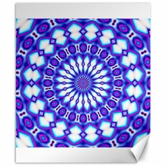 Pattern Background Color Canvas 8  X 10