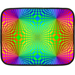 Pattern Colorful Abstract Fleece Blanket (mini)