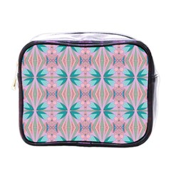 Seamless Wallpaper Pattern Free Picture Mini Toiletries Bag (one Side)