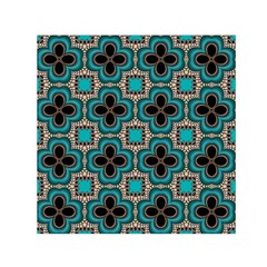 Seamless Wallpaper Pattern Small Satin Scarf (square)