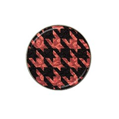 Fabric Pattern Dogstooth Hat Clip Ball Marker (10 Pack) by Vaneshart
