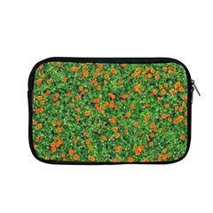 Carnations Flowers Seamless Apple Macbook Pro 13  Zipper Case