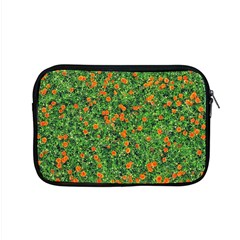 Carnations Flowers Seamless Apple Macbook Pro 15  Zipper Case