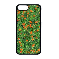 Carnations Flowers Seamless Iphone 8 Plus Seamless Case (black)