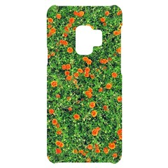 Carnations Flowers Seamless Samsung S9 Black Uv Print Case
