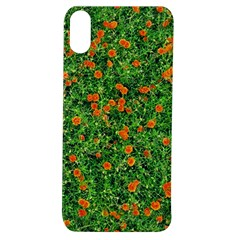 Carnations Flowers Seamless Apple Iphone Xs Tpu Uv Case