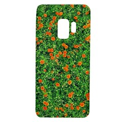 Carnations Flowers Seamless Samsung Galaxy S9 Tpu Uv Case
