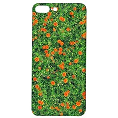 Carnations Flowers Seamless Iphone 7/8 Plus Soft Bumper Uv Case