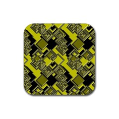 Seamless Pattern Background Rubber Coaster (square)