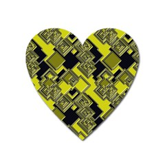 Seamless Pattern Background Heart Magnet