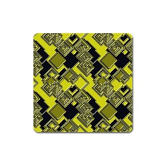 Seamless Pattern Background Square Magnet