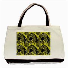 Seamless Pattern Background Basic Tote Bag